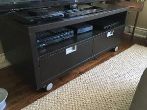 IKEA TV Stand with drawers