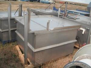 Variety of Stainless Steel Vats Available
