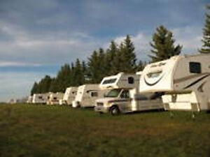 Storage,RV,Boats,Year Round,Seasonal,Near Lloydminster,Camping