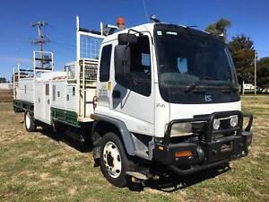 Isuzu FSR700 Long 4x2 Traytop/Service Vehicle/Crane Truck Inverell Inverell Area Preview