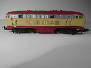 HO Model Trains, Diesel modern DB loco type BR 208 217-8