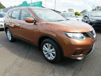 2016 Nissan X-Trail T32 ST (4x4) Bronze Continuous Variable Wagon