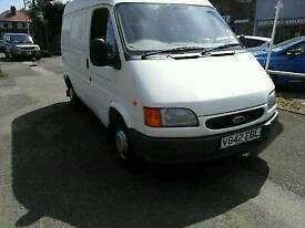 Ford transit smiley 15000mls one owner from new