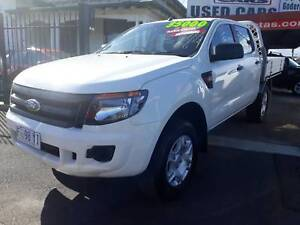2014 Ford Ranger flatray 4x4, turbo diesel, Automatic Invermay Launceston Area Preview