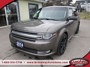 2014 Ford Flex ALL-WHEEL DRIVE LIMITED EDITION 6 PASSENGER 3.5L