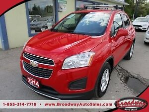 2014 Chevrolet Trax LOADED 2-LT MODEL 5 PASSENGER 1.4L - ECO-TEC