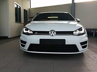 Vw golf r complete front end