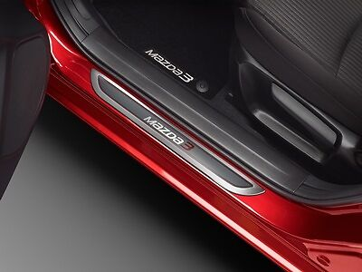 2014 - 2017 Mazda3 Genuine OEM Door Sill Scuff / Trim Plates set of 4