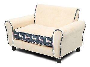 4 Paws Indulgence Pet Sofa - Clemton Beige + Blue Hurstville Grove Kogarah Area Preview
