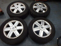 16'' renault alloy wheels/tryrs