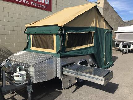 Outback Sam Off Road Camper with Independent Suspension