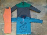 Bundle of boy's clothes 4 years, worn once!!!