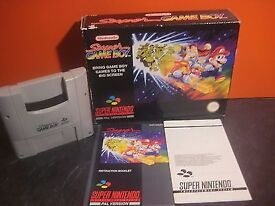 Super Gameboy Adaptor For Snes ( Super Nintendo Entertainment System) Boxed in VGC VERSION