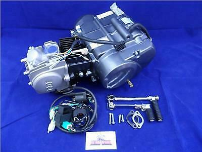 New Lifan 125cc Big Valve 4 Speed Manual Pit Bike Engine & Complete Wiring Loom