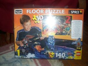 Rose Art Space Floor Puzzle 3D Works well with lego