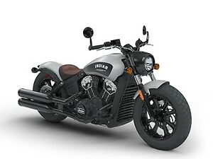 2018 Indian Motorcycle Scout Bobber Star Silver Smoke