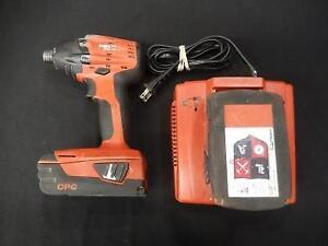 Drill 18V Lithium + Batterie + Chargeur HILTI / Model SID18-A (i019467)