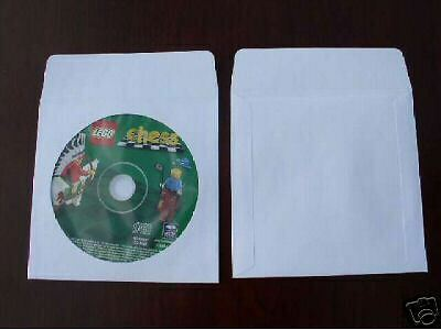 1000 Cd Dvd Paper Sleeve W Window And Flap Psp10