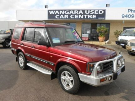 2003 Land Rover Discovery Series II S (4x4) Burgundy 4 Speed Automatic Wagon