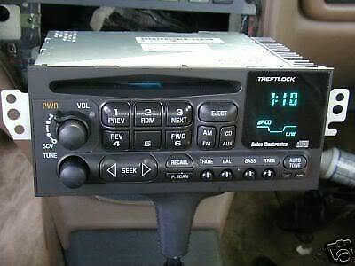 OEM 1995-2002 DELCO GM CHEVY AM/FM/CD RADIO CAPRICE IMPALA Camaro S10 BLAZER