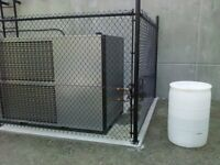 Chain link Dog Runs, chain link and wood fences too