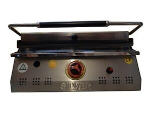 CONTACT GRILL GAS Lpg LP Sandwich PANINI Toaster Griddle OVEN 50
