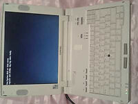 Computer. A used Compaq laptop computer, not working. It's being offered here as for spares only