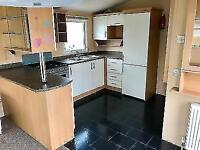 DOUBLE GLAZED AND HEATED STATIC CARAVAN FOR SALE NORTH WALES