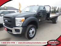2011 Ford F-550 DIESEL READY TO WORK XL MODEL 3 PASSENGER TWO-WH