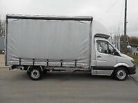 Mercedes-Benz Sprinter 2.1TD 316 CDI LWB Curtain side with Barn Doors