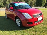 2008 Suzuki Swift EZ 07 Update Maroon 5 Speed Manual Hatchback Clontarf Redcliffe Area Preview
