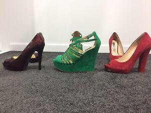 Womens Shoes - Size 37 (Peeptoe/Mimco/Wayne Cooper) Mount Gravatt Brisbane South East Preview