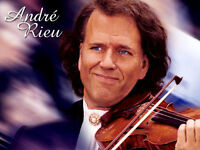 ANDRE RIEU pair of seated tickets BELFAST SSE ARENA 09 December 2016 - GREAT SEATS!!