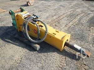 Indecco hp650 rock breaker for Komatsu PC55new cond Hobart CBD Hobart City Preview