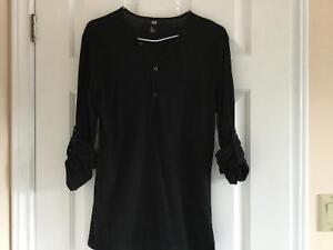 H&M Black Long Sleeve Men's Shirt London Ontario image 1