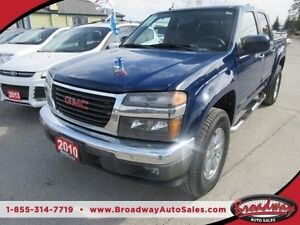 2010 GMC Canyon LOADED SLE MODEL 6 PASSENGER 4X4.. CREW CAB.. SH