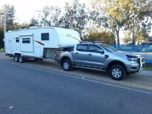 2010 Xtreme  26'  ultimate freecamper 5th wheeler (car optional) Newcastle Region Preview