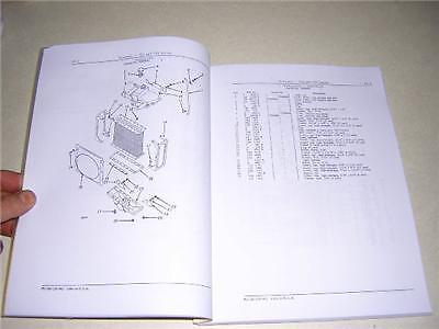 John Deere Early A Ar Ao Tractor Parts Catalog Manual