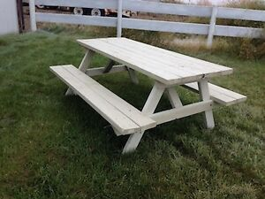 Picnic Table Kijiji In Calgary Buy Sell Save With Canadas - Motorized picnic table for sale
