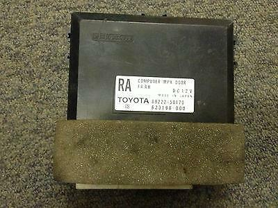 Lexus LS430 Right Front Driver Side MPX Door Computer Module 2002 8922250170