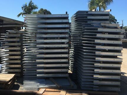 Retaining wall steel for concrete sleepers cheapest in Australia