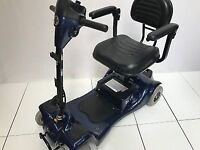 WHEELTECH RIO + 4 Electric Class 2 Pavement Blue Mobility Scooter inc Warranty & New Batteries