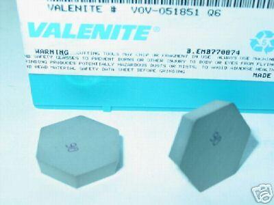 V0V 051851 Q6 VALENITE CERAMIC INSERTS