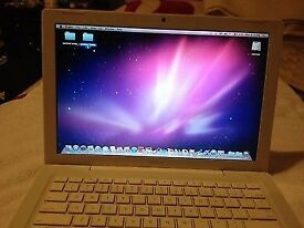 Macbook 13 White 1.83ghz core duo , 2gb ram , 80gb hard drive