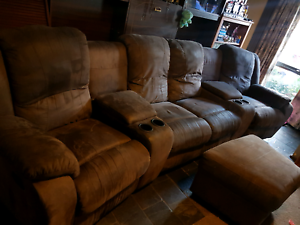 Couch With Recliners Lounge Berwick Casey Area Preview