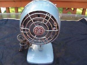 Vintage Art Deco GE General Electric Fan Heater