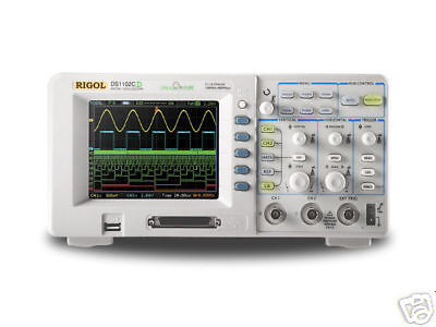 Rigol Digital Color Oscilloscope 60mhz Dual Ch Ds1062ca