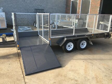 16x6 Tandem Trailer Lawn mowing Cage trailer Australian made Ramp Seaford Frankston Area Preview