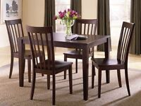 5 piece dining set..brand new..taxes in.