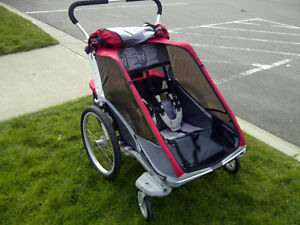 Double Cougar Chariot with Attachments